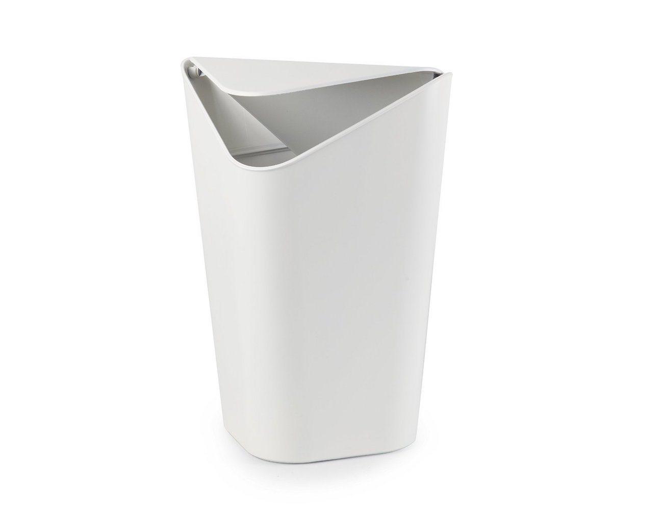 Corner waste bin perfect waste bin for corners gadget flow - Corner wastebasket ...