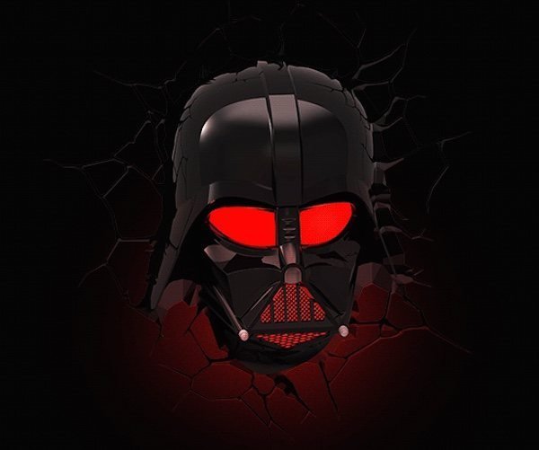darth vader 3d deco lights gadget flow. Black Bedroom Furniture Sets. Home Design Ideas