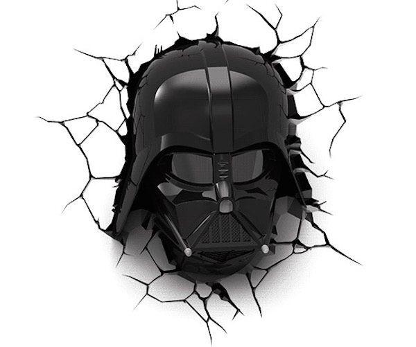 Darth Vader 3D Deco Lights