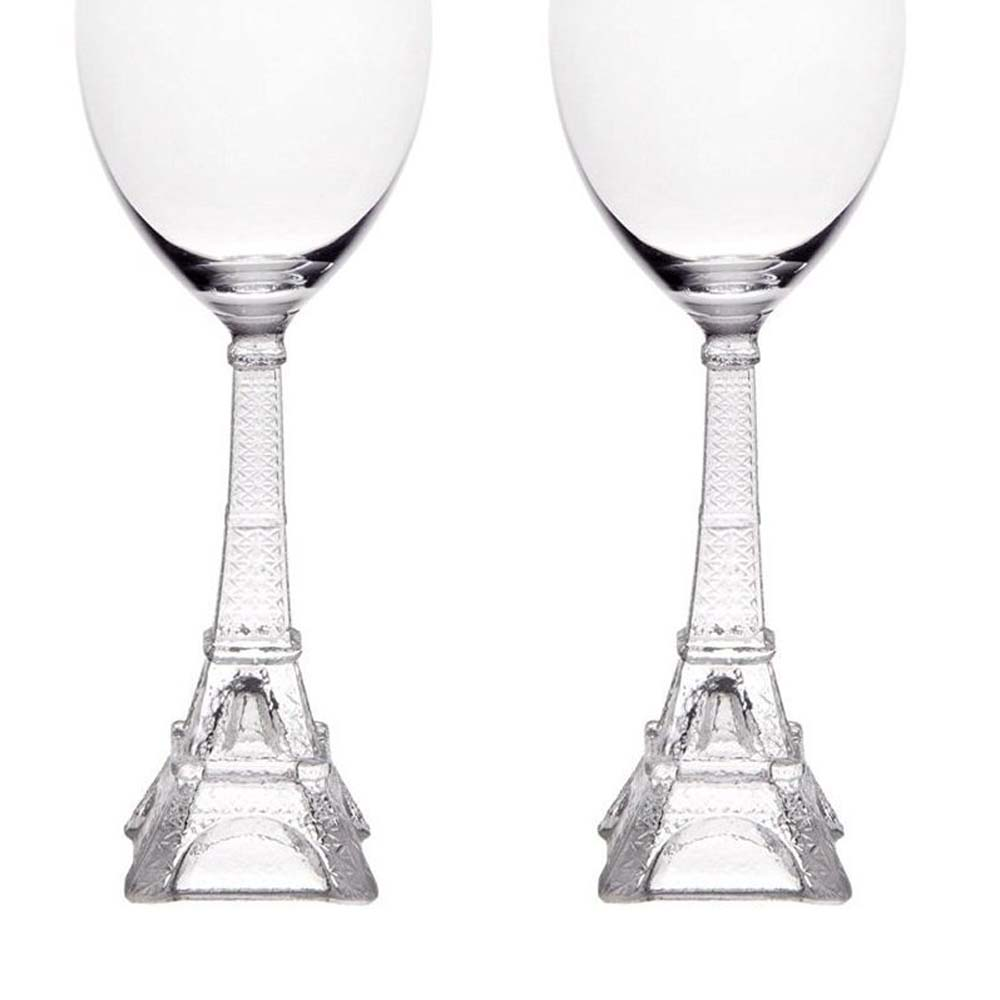 Eiffel Tower Wine Glass