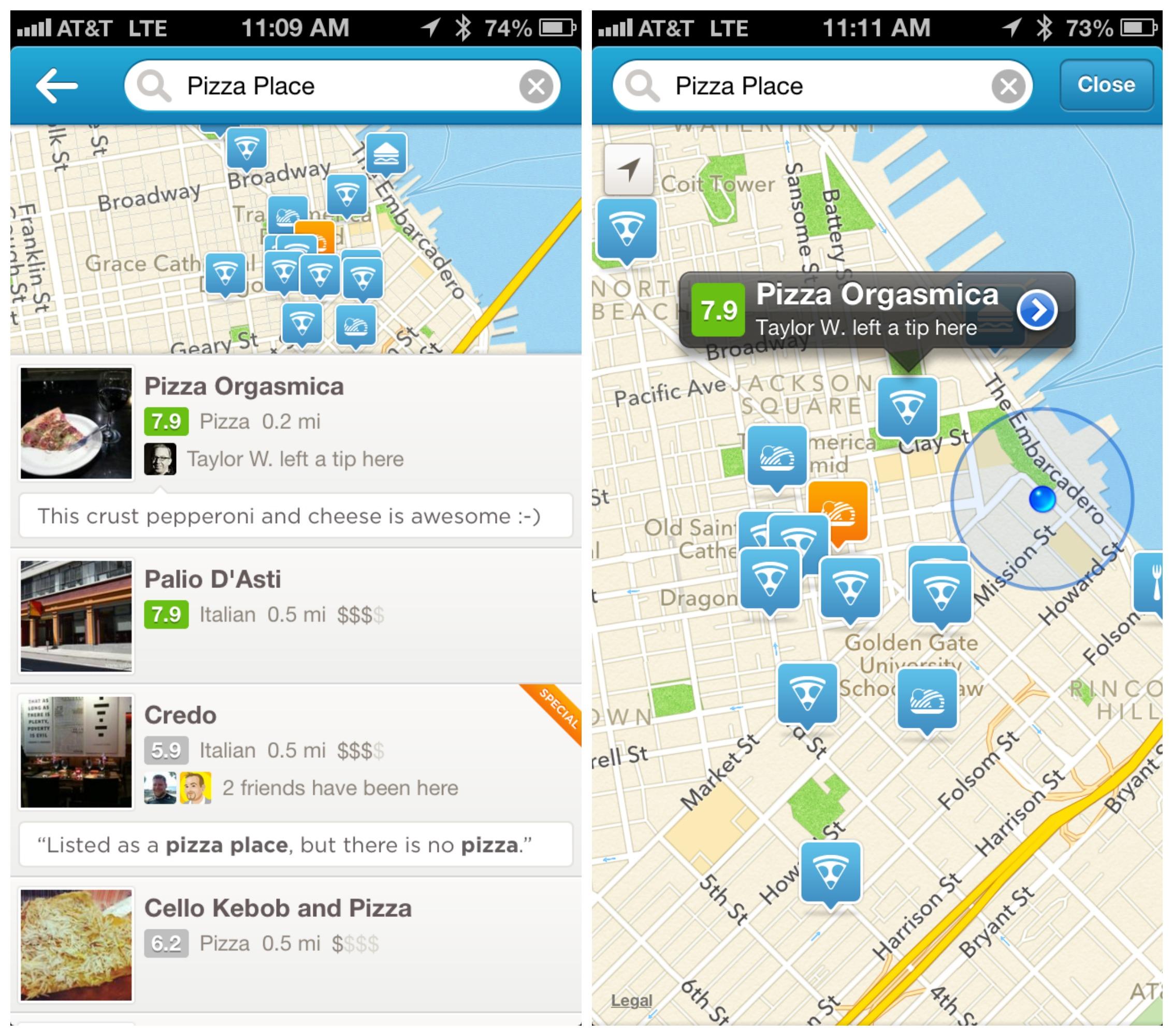 Foursquare SF
