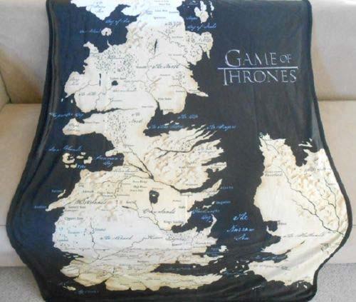Game of Thrones Map of Westeros Fleece Blanket