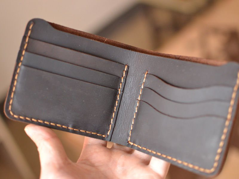Image result for Handmade Leather Wallet
