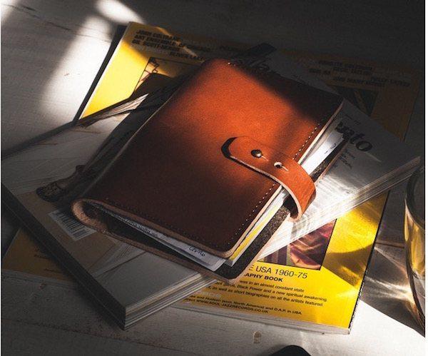 Hazelnut Book Wallet A6 by Noise Goods
