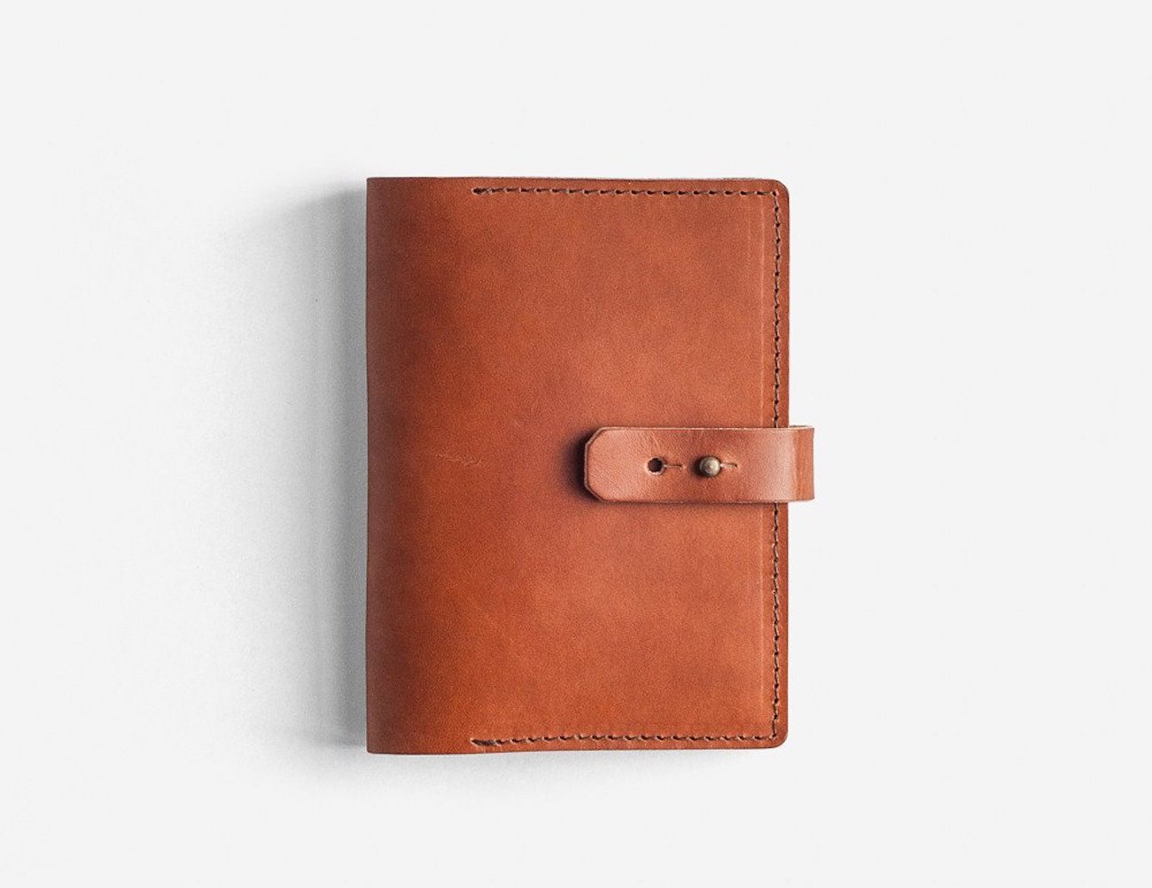 Hazelnut Book Wallet A6 by Noise Goods