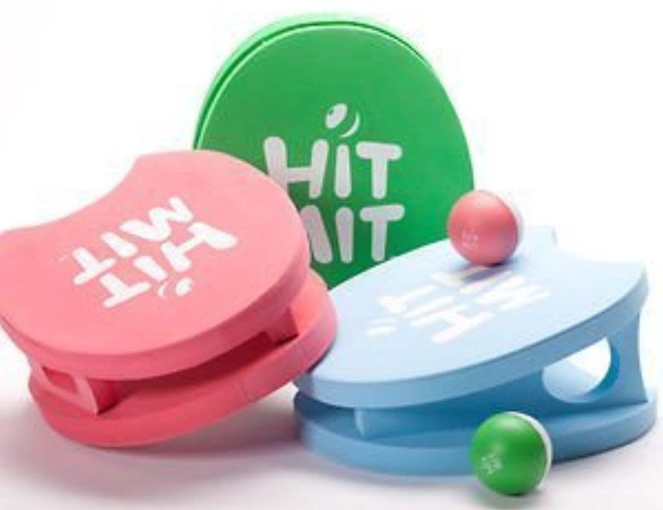Hit Mit Set – Four Personal Wearable Paddleball Set