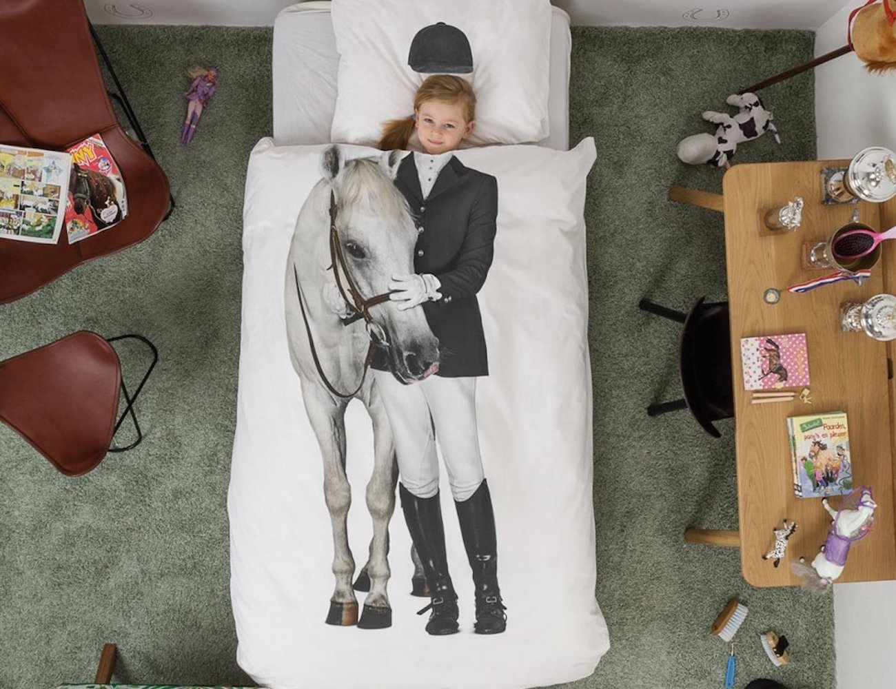 Horse Duvet Set by Snurk