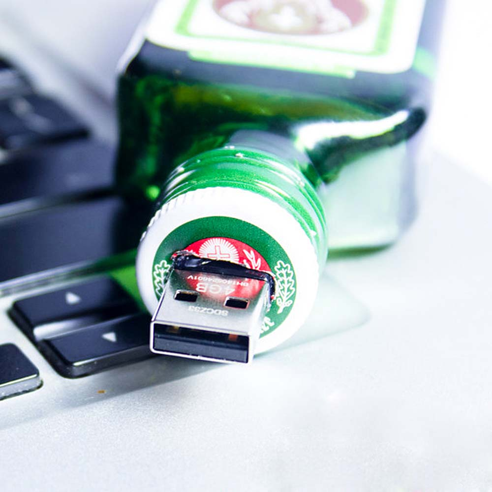 Jagermeister Themed Flash Drive USB