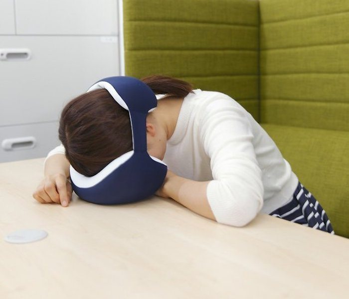 King Eye Mask Napping Pillow