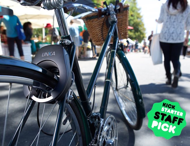 Linka World S First Auto Unlocking Smart Bike Lock