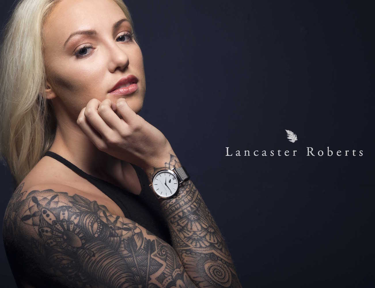 Lancaster Roberts' First Luxury Watch Collection