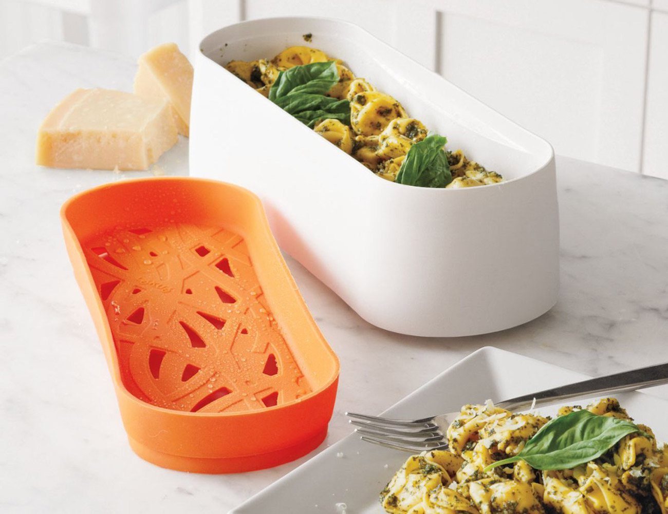 tupperware microwave pasta cooker instructions
