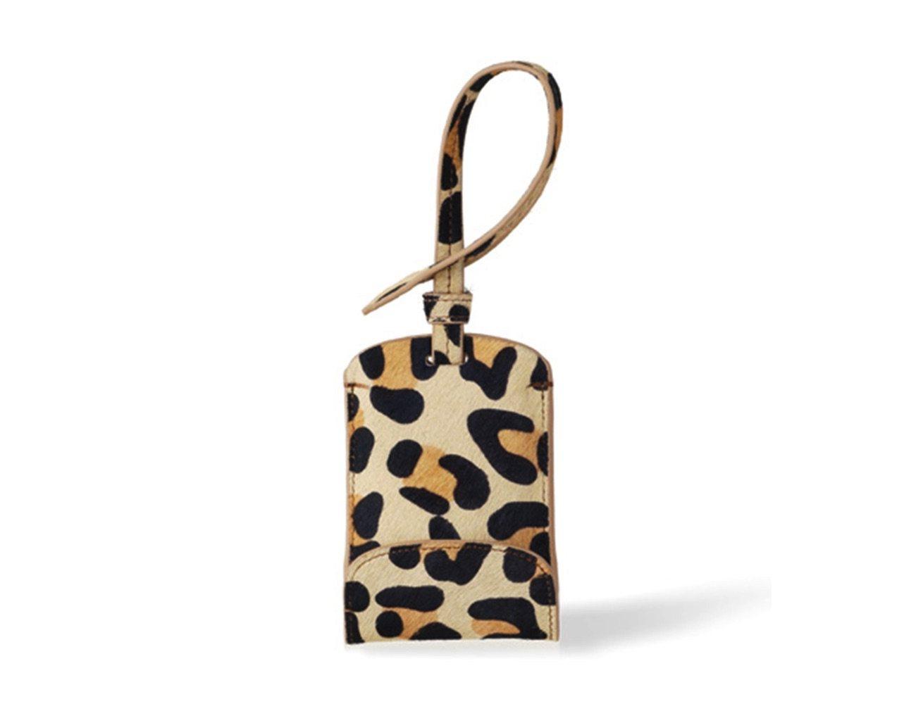 Leopard Bag Tag Smartphone Charger