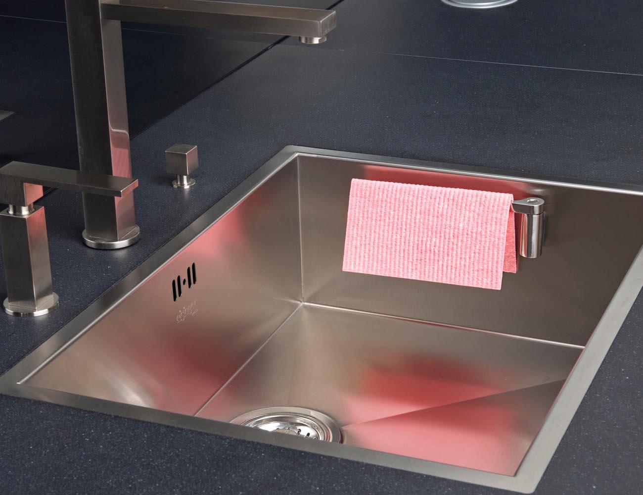 Magnetic Kitchen Cloth Holder