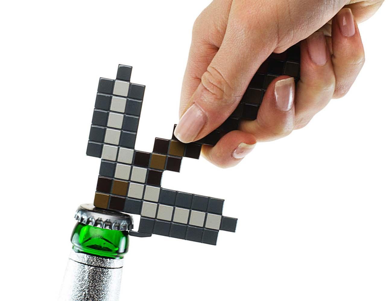 Minecraft+Pickaxe+Bottle+Opener