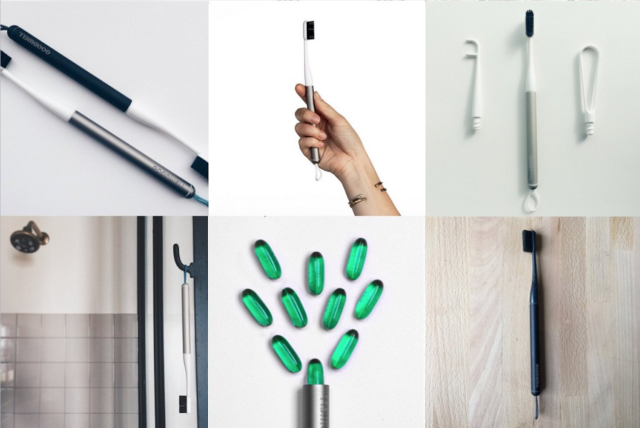 Modern Sustainable Toothbrush