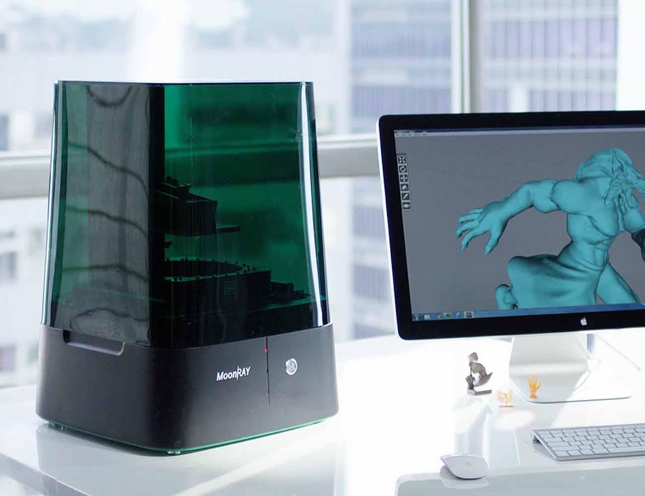 MoonRay – World's Best Desktop 3D Printer