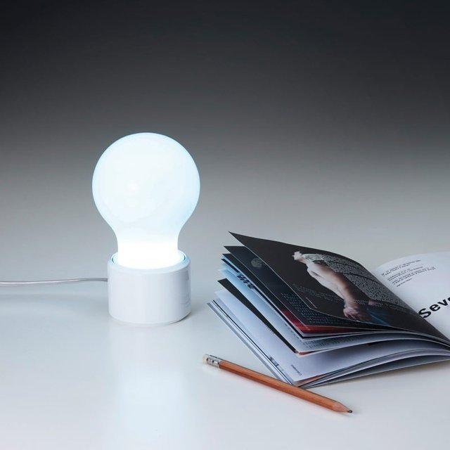 Make your night reading hours or work times more playful with the My Table Lamp.