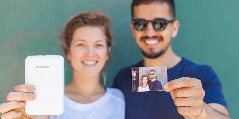 Polaroid zink printing