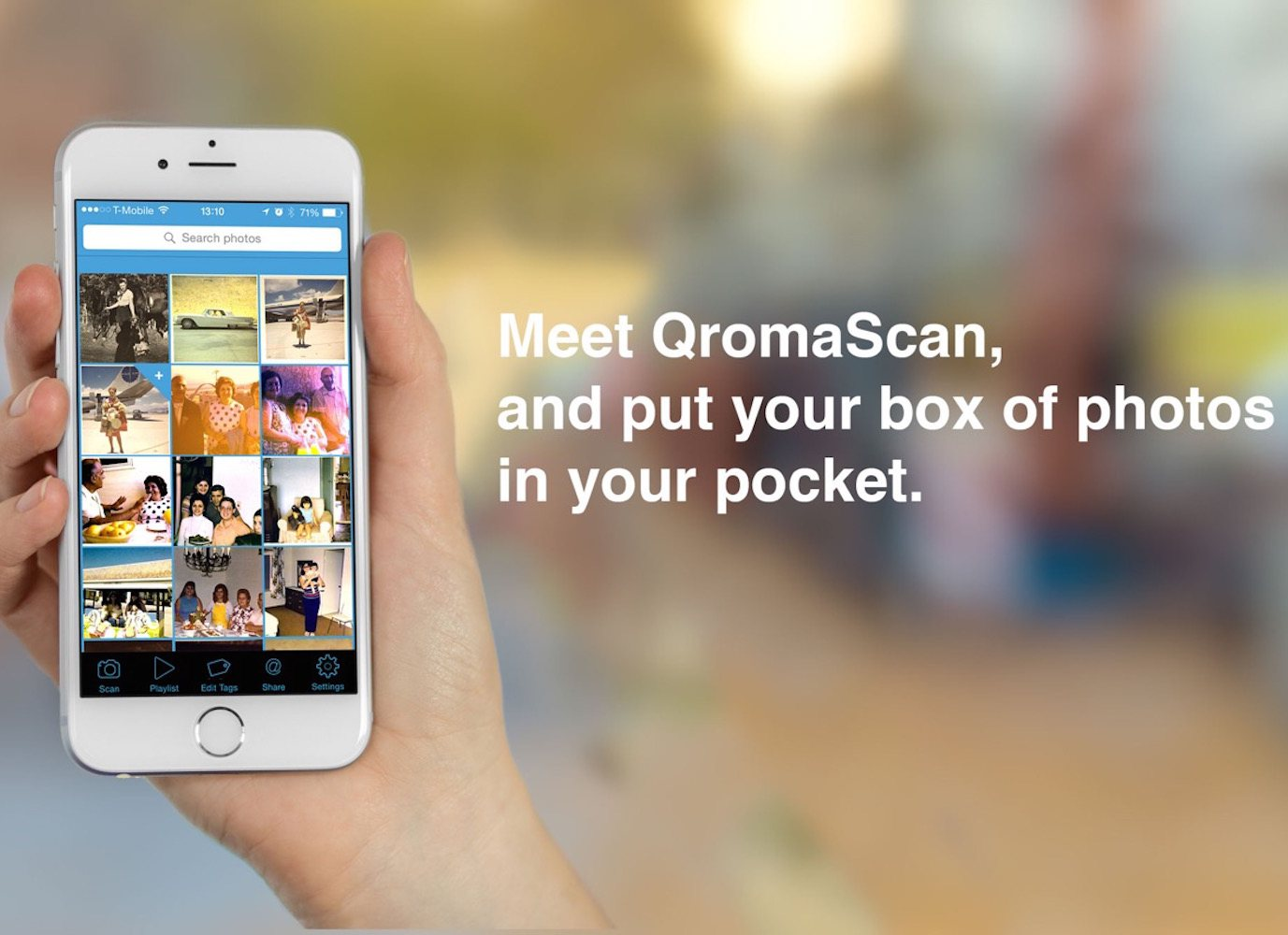 QromaScan – A New, Smarter Way to Scan Photos