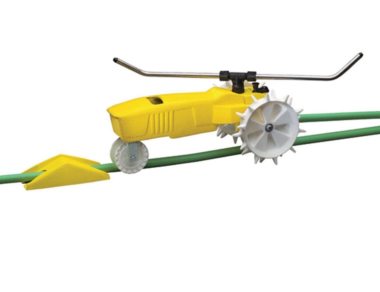 Raintrain Traveling Sprinkler For Your Lawn