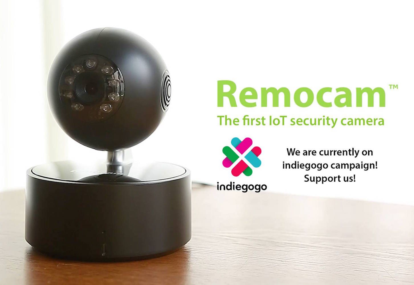 Remocam: Smart IoT Security Camera for Smart Homes