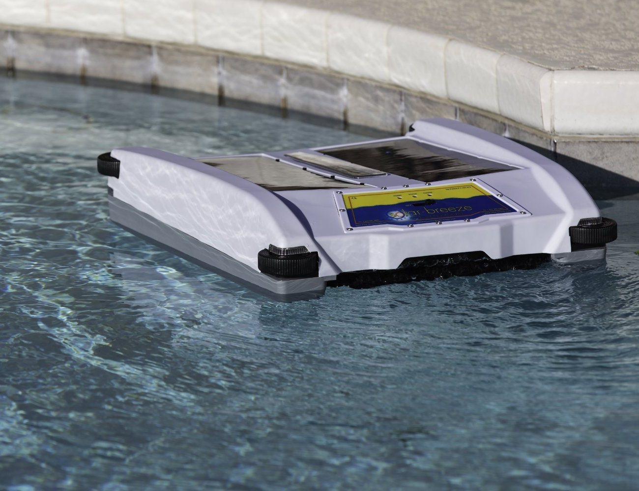 Robotic Solar Pool Skimmer