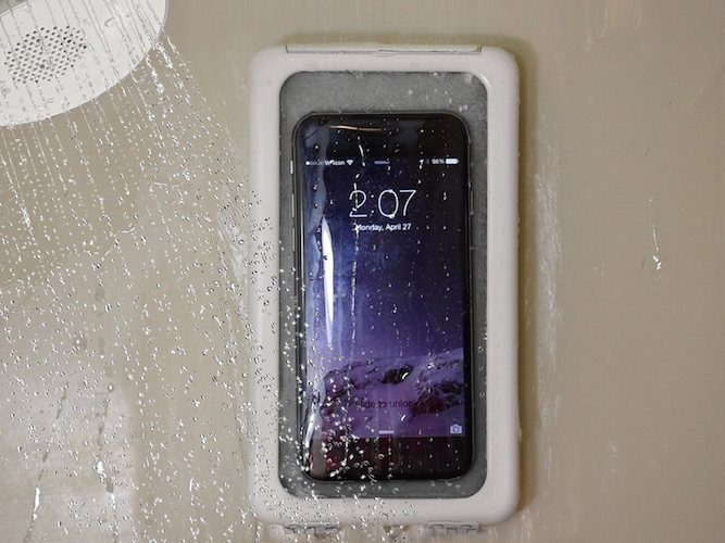 Shower Case Smartphone Holder