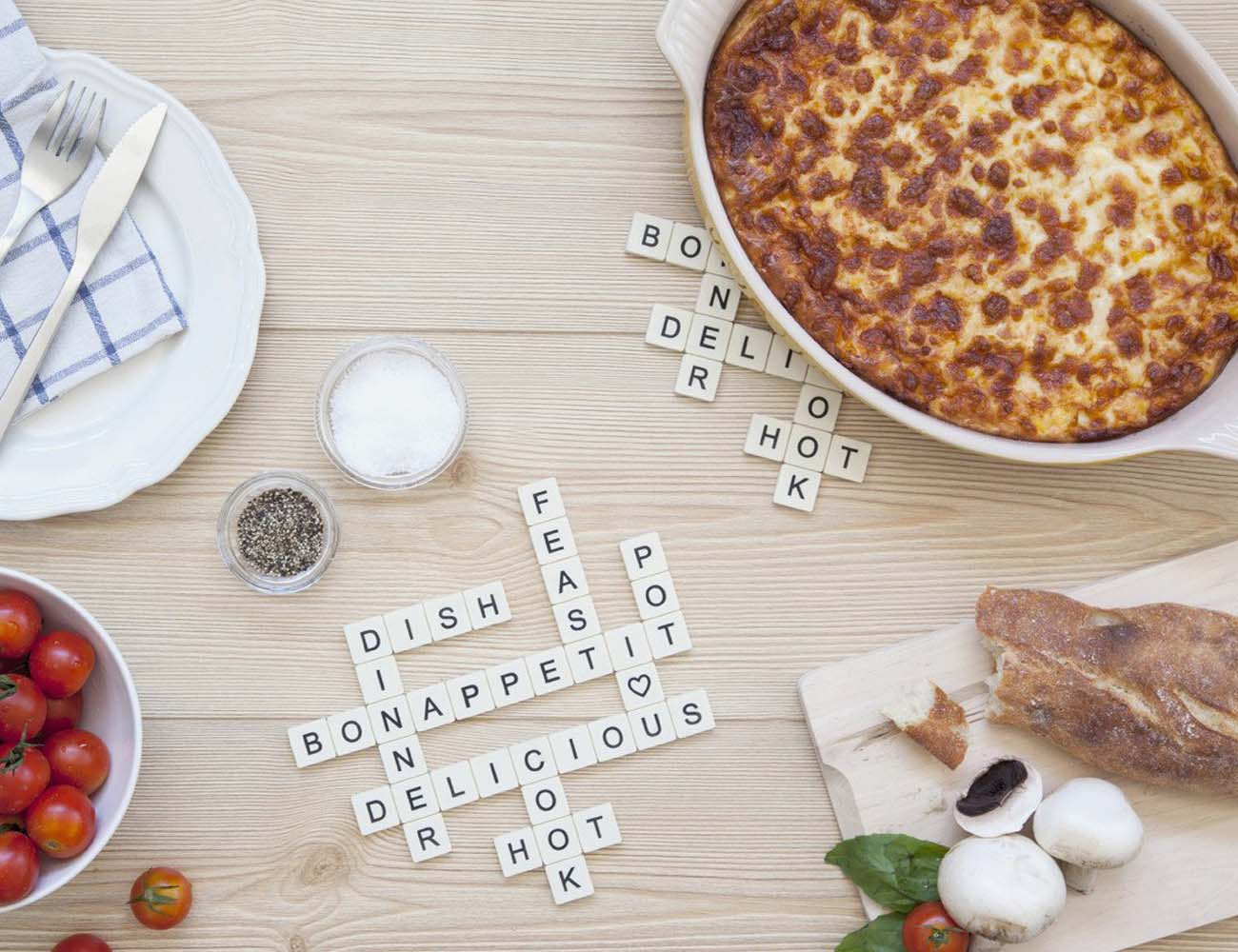 Subtext Trivet – Crossword Puzzle Trivet