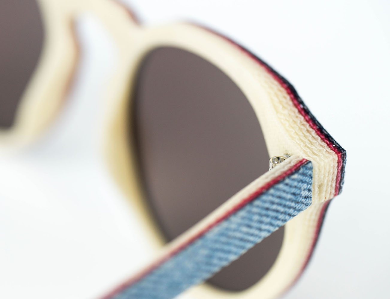 Sunglasses Made From Solid Denim