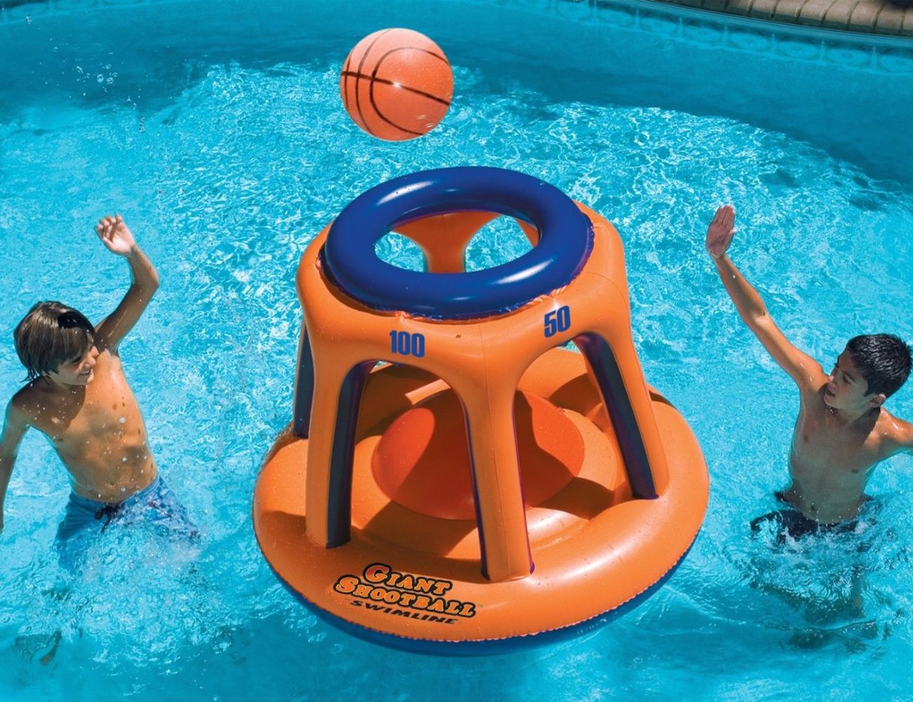 Swimline Giant Shootball Inflatable Pool Toy » Gadget Flow