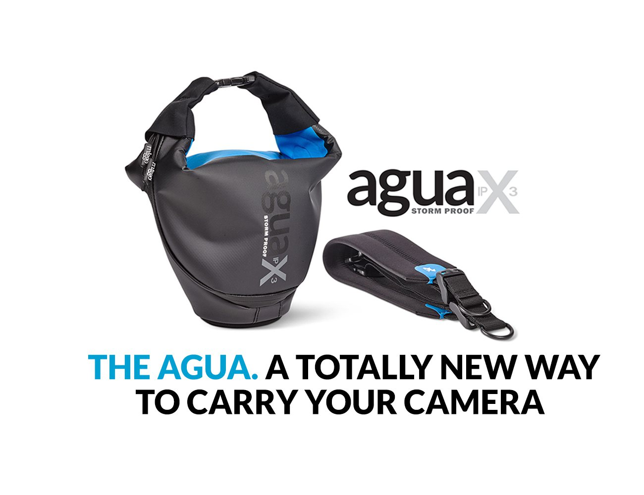 The AGUA By Miggo Changes The Way Cameras Are Carried