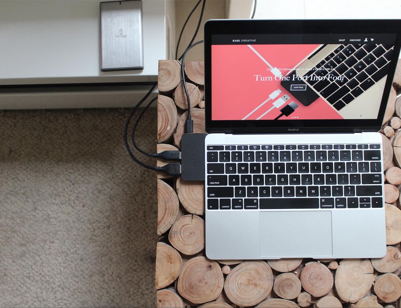 The KADi Port – Adapter For Macbook 12
