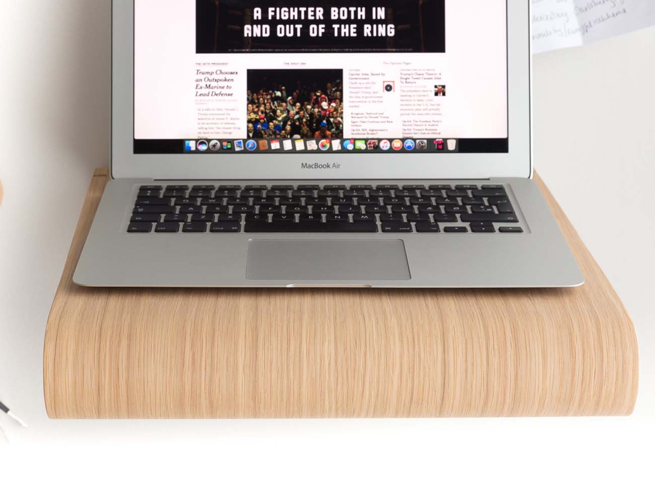 The MacBook Wall Desk