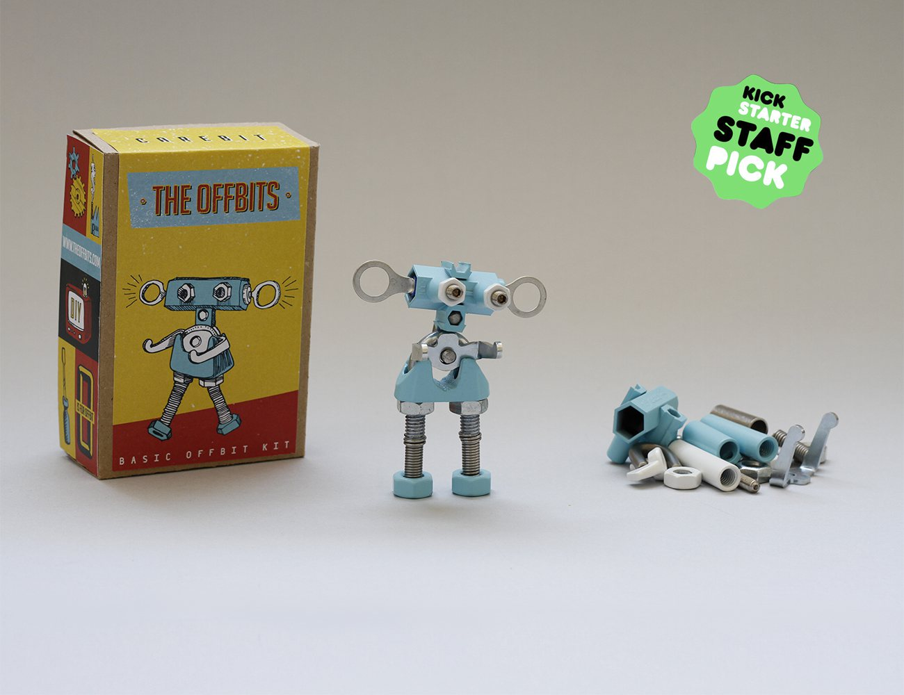 The OFFBITS – The Art Of Spare Parts
