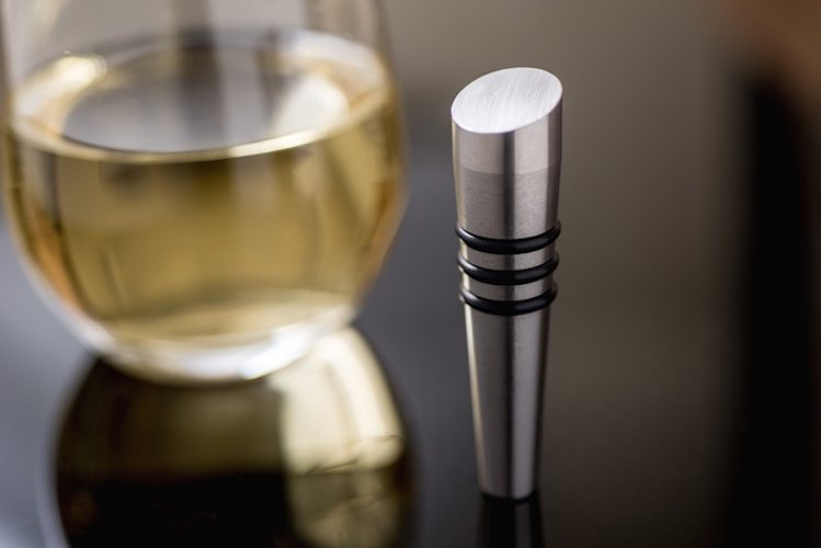 The+Taper%3A+Soapstone+And+Metal+Wine+Stoppers