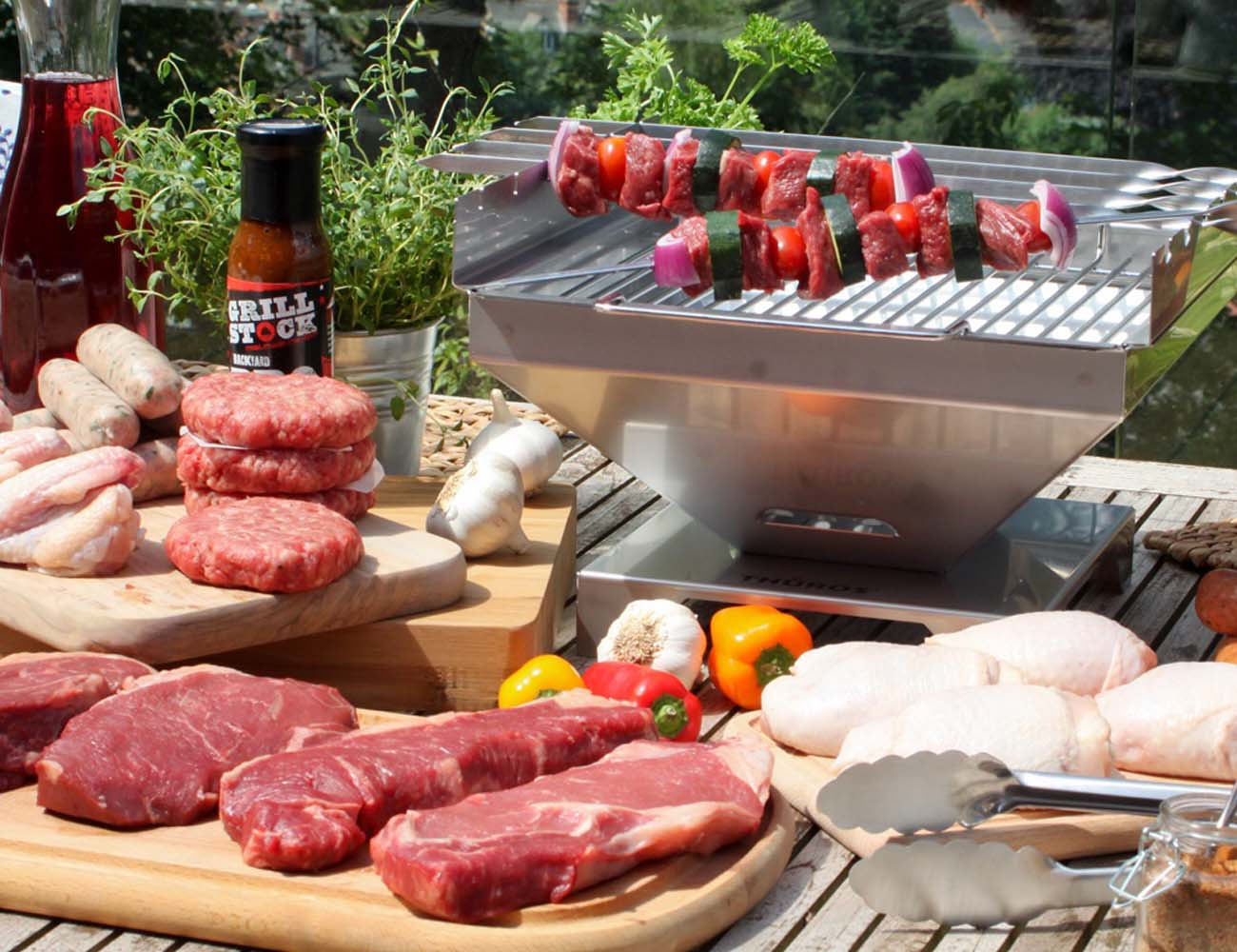 Thuros – Tabletop BBQ and Grill