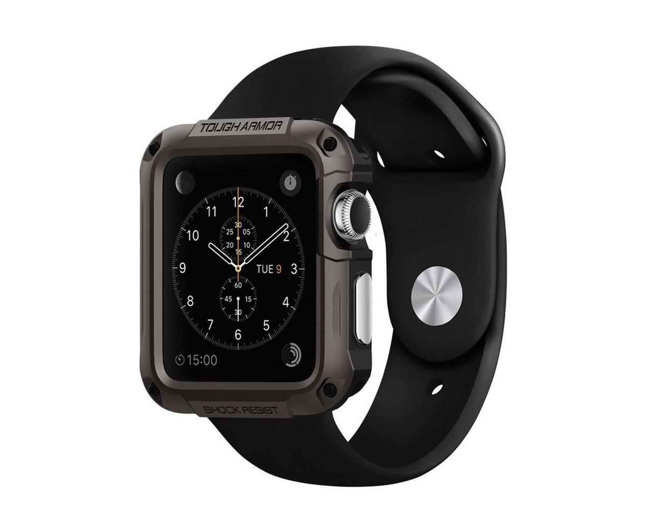 Tough Armor Case for the Apple Watch by Spigen » Gadget Flow