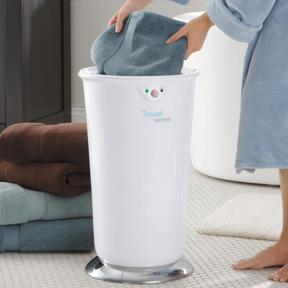 Towel Warmer by Brookstone