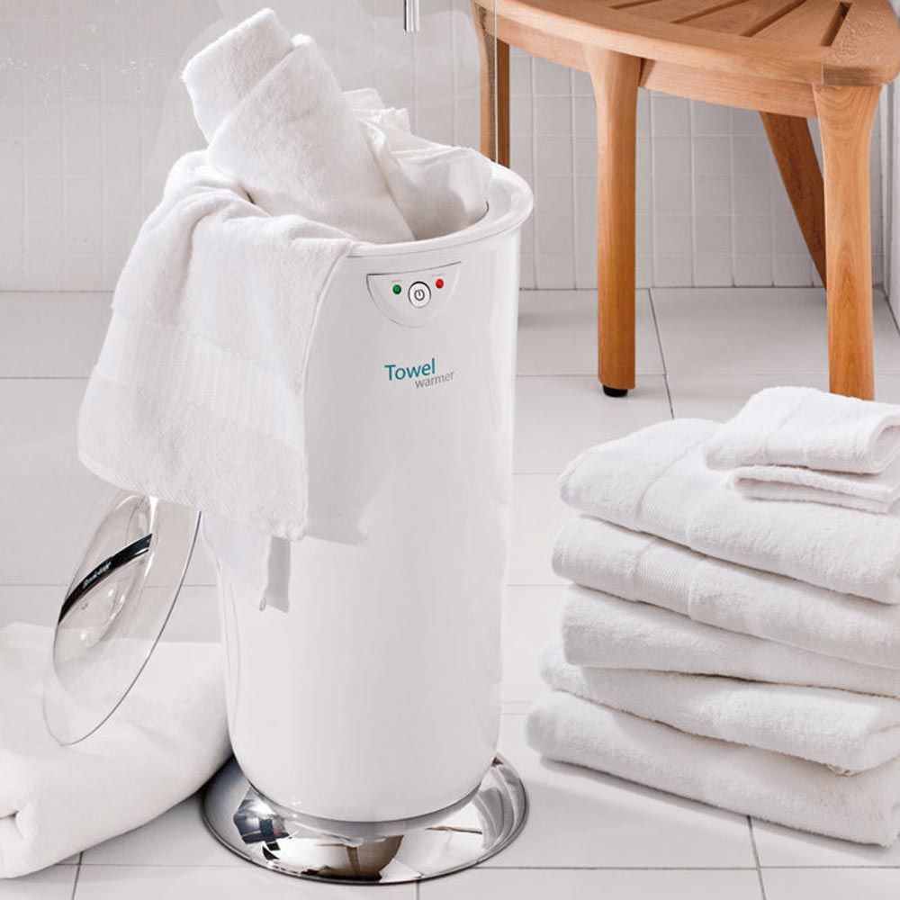 Towel Warmer By Brookstone » Gadget Flow