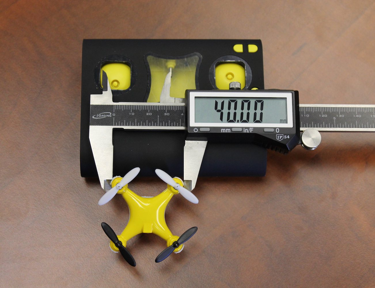 Wallet Drone – World's Smallest Quadcopter