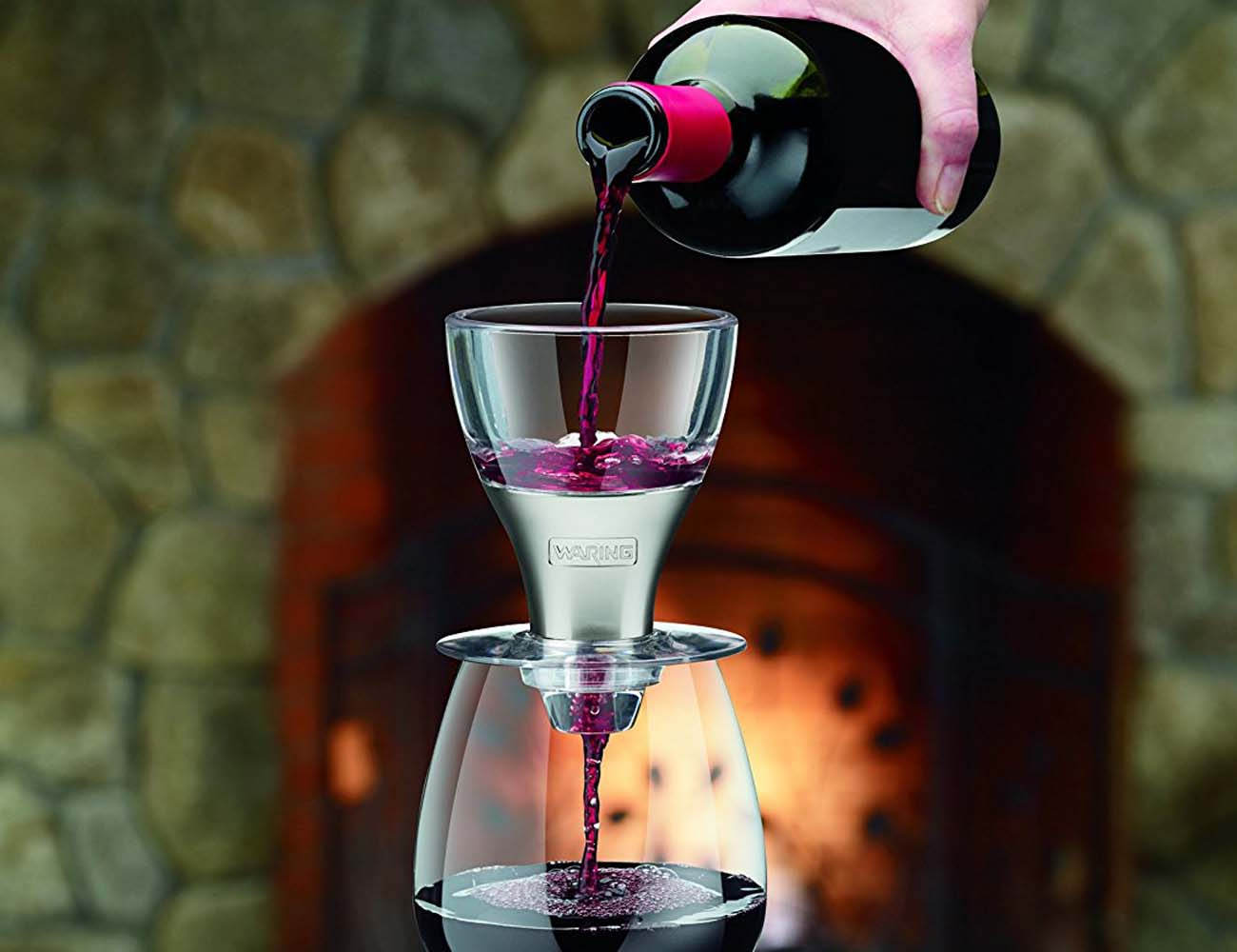 Waring Pro – Stainless Steel Wine Aerator