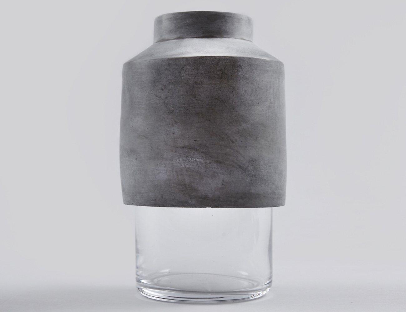 Willmann – Glass & Concrete Vase