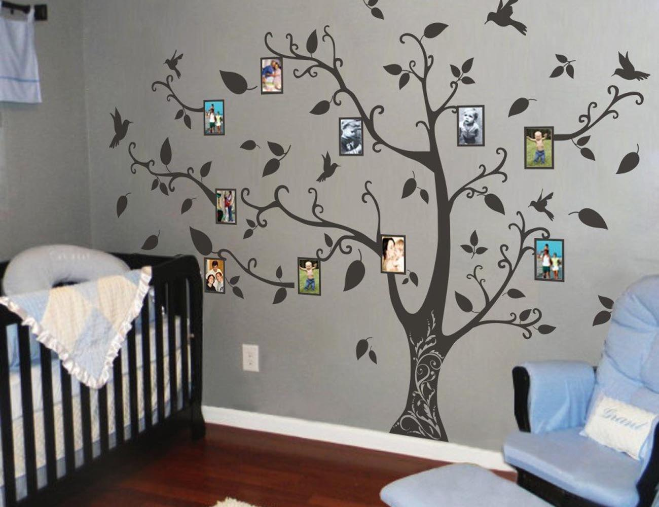 Amazing  Winter Trees Wall Stickers