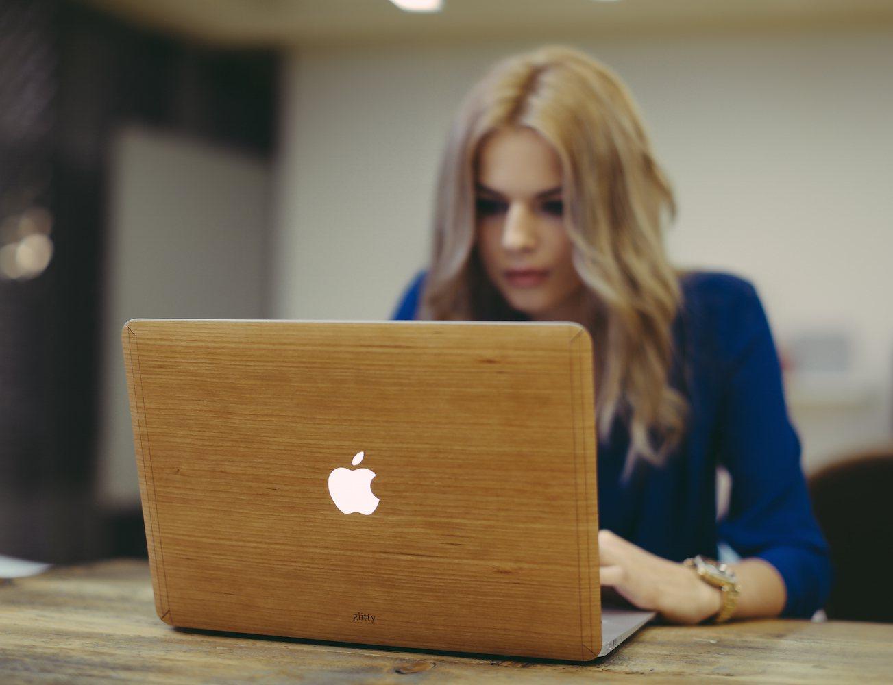 Wooden Dresses for Macbooks