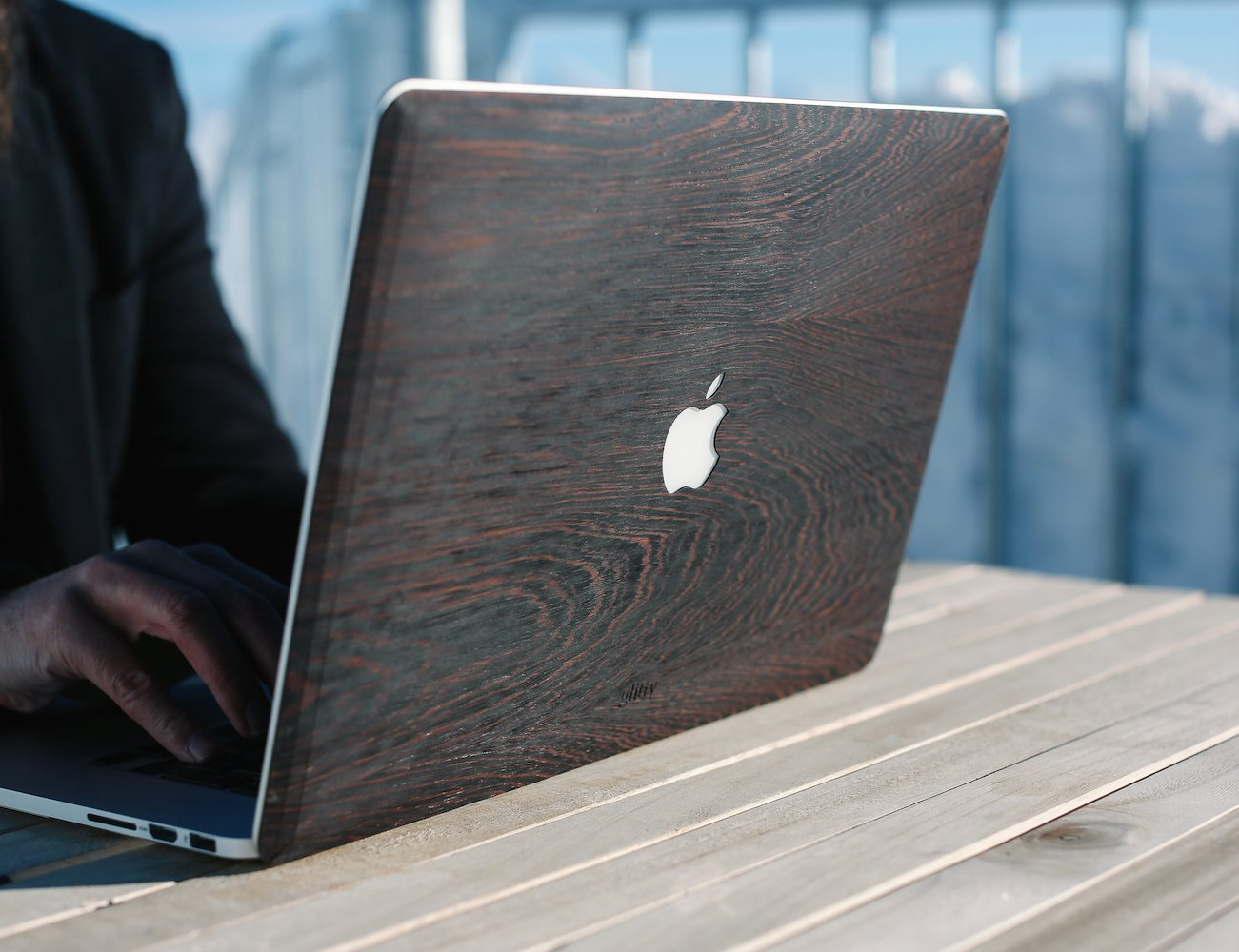 Wooden Dresses for Macbooks