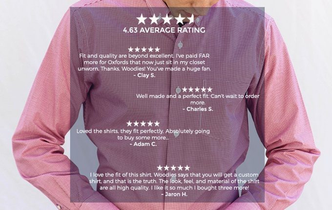 Woodies | Perfect Fitting Shirts with 3D Measuring