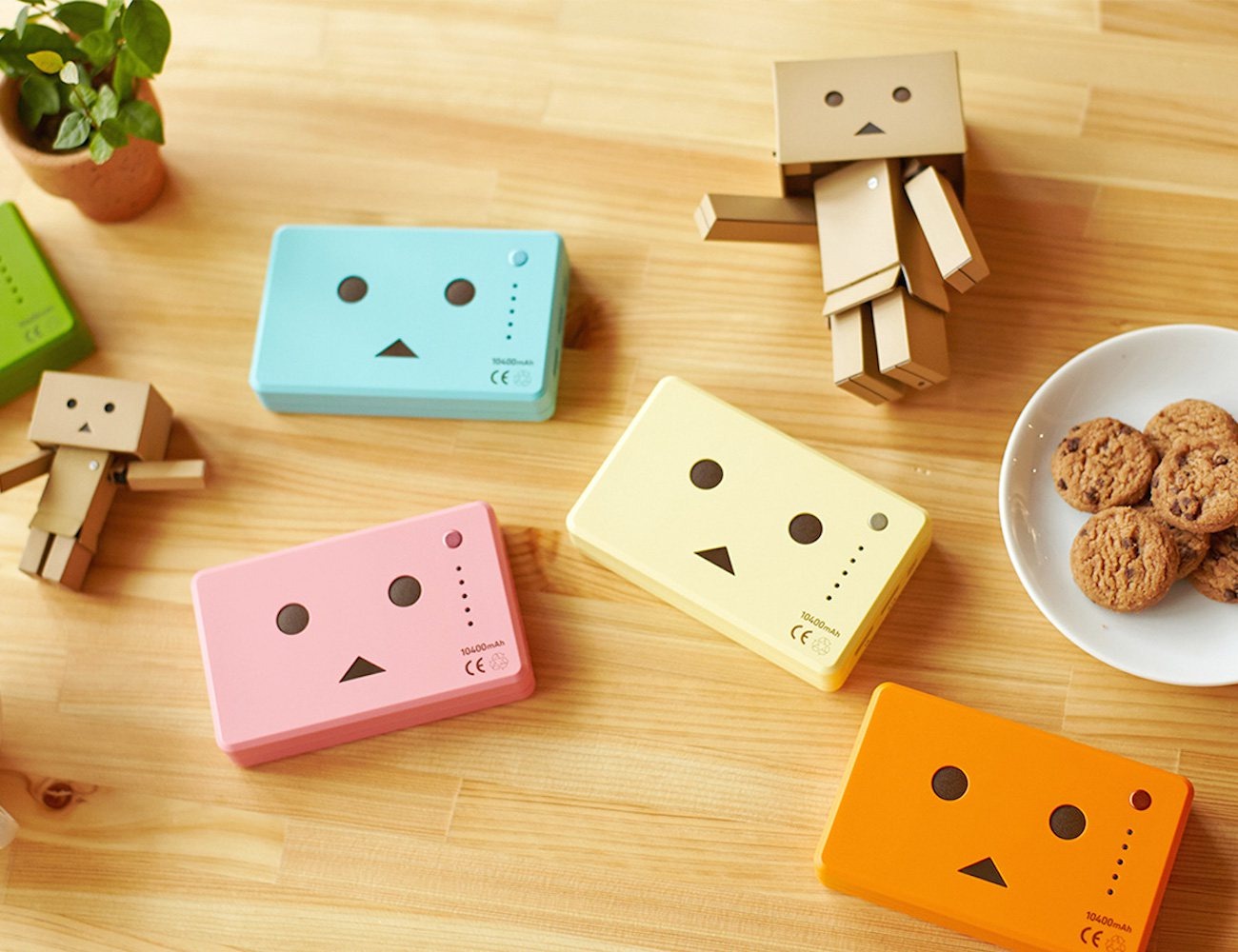 cheero Power Plus 10400mAH Danboard version — The Cutest Mobile Battery