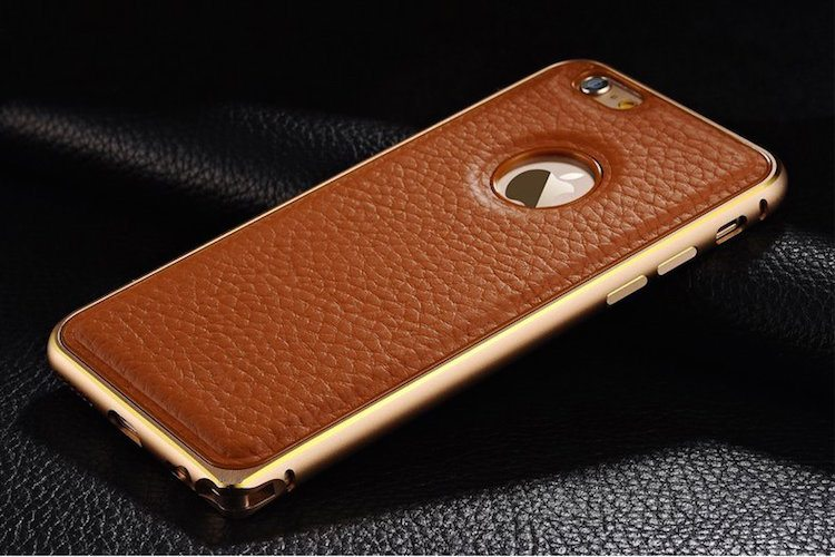 iPhone 6 6+ Genuine Leather Case  15 Minute News
