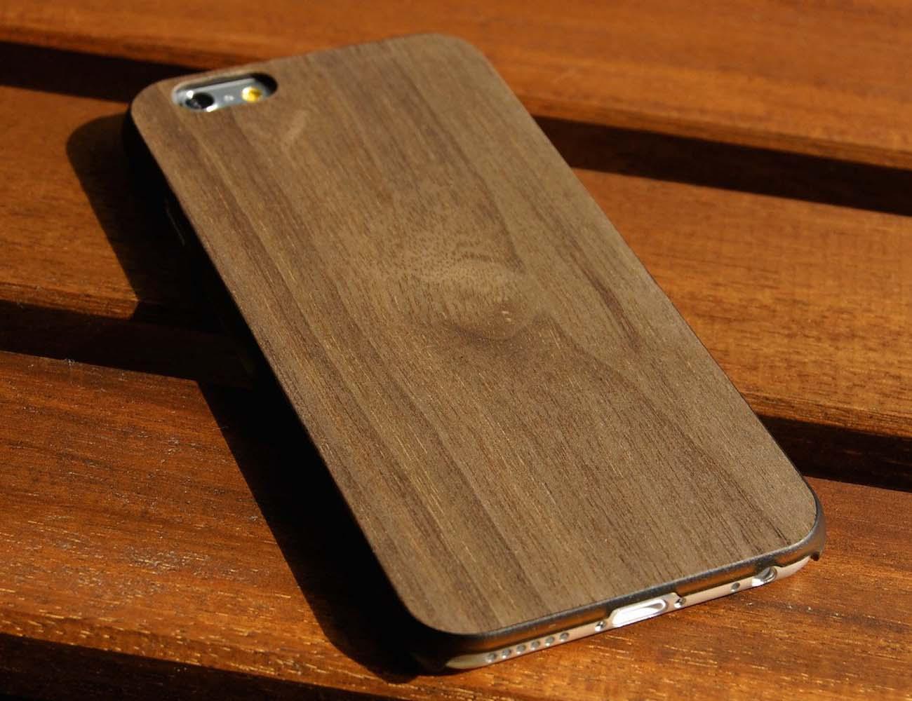 iPhone 6/6s Walnut Real Wood Slim Case